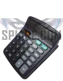 microregistratore spia occultato in calcolatrice