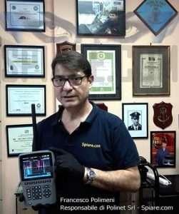 Francesco Polimeni Polinet Srl consulente per la sicurezza dei dati esperto in contromisure allo spionaggio esegue servizi di bonifica a Roma e su tutto il territorio nazionale