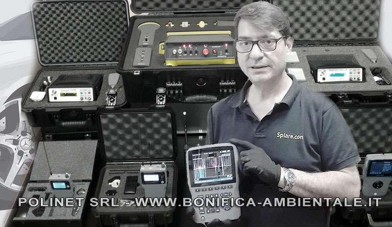 Rilevatori bonifica microspie GPS auto Francesco Polimeni